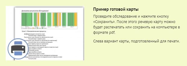 Пример готовой карты