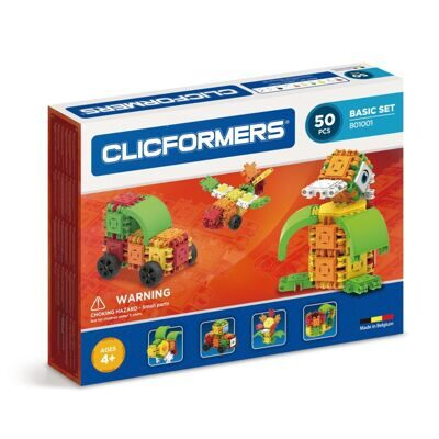 Конструктор CLICFORMERS 801001 Basic Set 50 деталей