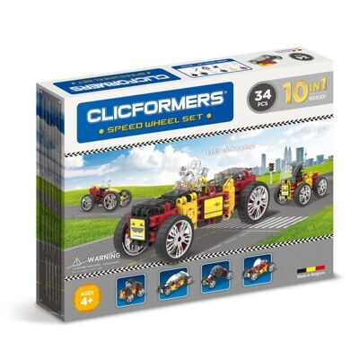 Конструктор CLICFORMERS 803001 Speed Wheel set 34 детали
