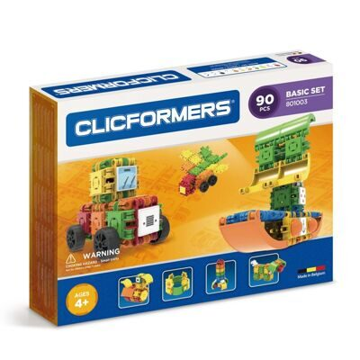 Конструктор CLICFORMERS 801003 Basic Set 90 деталей